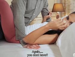 PORNDOE PEDIA - Spanish babe Apolonia Lapiedra shows how to lose virginity
