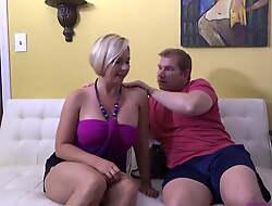 Son Massages Step Mom - Brianna Beach - Mom Comes First