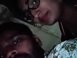 Swathi naidu with her boyfriend overhead bike