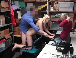 Police officer fucks A mother and crony's daughter who have been